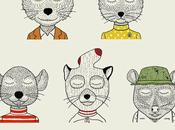 Characters Anderson Illustrations