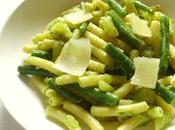 Recette pâtes pesto haricots verts pommes terre