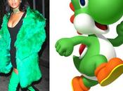 Quand Rihanna s'habille comme personnages Mario Party