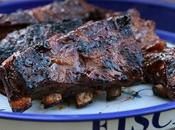 Travers porc sauce barbecue (Ribs BBQ)