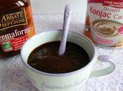 crème dessert caramel café chicorée konjac seulement kcal (diététique, allégée, riche fibres sans oeuf cuisson)