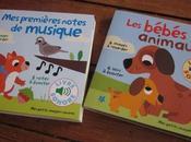 premières notes musique Bébés animaux