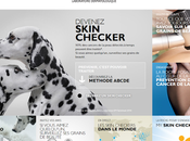 Devenez Skin Checker... campagne sensibilisation Cancer peau signé Laroche-Posay.
