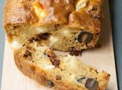 Cake Sans Gluten Pois Chiche, Olives, Feta Tomates Séchées