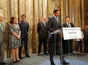 Rafael nadal médaille grand vermeil ville paris