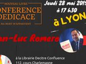 Conférence-dédicace mort m'appartient Librairie Decitre Confluence Lyon