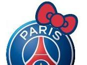 Hello Kitty aime Paris Saint-Germain