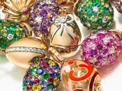 Luxe Fabergé Charms Eggs, nouvelle collection miniature