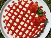 Cheesecake vanille coulis fraises (sans cuisson)