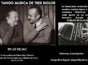Tango música tres siglos chez samedis juin l'affiche]