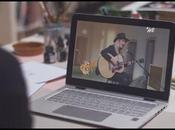 Découvrez clip interactif Burn d'Ellie Goulding, fruit de...