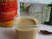 yaourts maison végétaux amande Chi-Café avec stévia (diététiques, sans gluten, lait, lactose sucre)