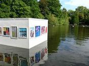 galerie d'art flottante Londres