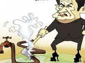 Sarkozy joue plombier Fernand Raynaud