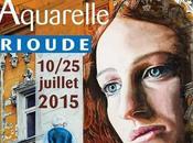 7ème Biennale d'Aquarelle Brioude. Masmoulin sera .comme visiteur passionné