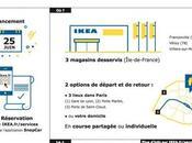 Ikea Chaufför t'emmène faire soldes