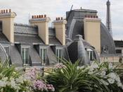 terrasse secrète l'été restaurant hôtel Warwick Champs-Elysées