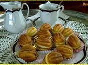 Petits gâteaux forme noix