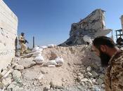 Syrie régime syrien perd ligne défense importante Alep