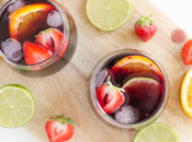 Alerte canicule: Sangria toquée Madiran fraise