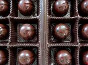 Chocolats fins gelée fraises sauvages ganache basilic