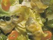 Salade d'été lavaret marinade curry