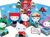 série peluches Donald's Hello Kitty SG50