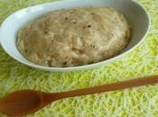 crème poire chocolat céréales (hyperprotéinée, diététique, sans cuisson riche fibres)