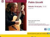 Pabo Ucelli concert payant chez Gardel l'affiche]