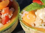 Salade fraîche Melon feta