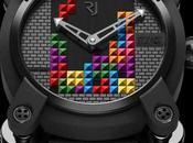 Tetris inspire nouvelle montre Romain Jerome