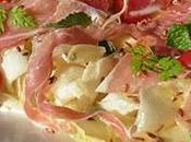Salade d'endives, jambon parme pomme [#salade #parma #italie #prosciuttodiparma #summer #instafood #tgif]