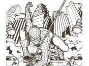 dessin spiderman
