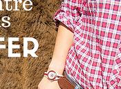 nouvelle jolie montre bois Konifer