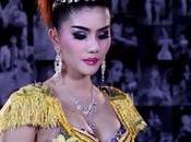 Music thaïlande, maxi paillettes, short skirt mère grand [HD]