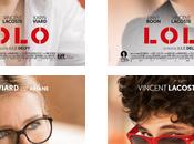 Cinéma Lolo, affiches personnages