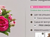 Interflora soutient Rose Magazine