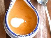 Velouté épicé lentilles corail, tomates lait coco (vegan)