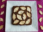 gâteau 100% cacao caroube dattes pommes protéines chanvre (diététique, végan, sans oeuf gluten riche fibres)