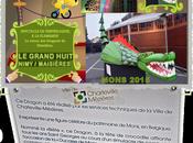 Grand Huit épouvantails, marionnettes géants... Nimy Maisières Mons 2015