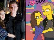 artiste vous propose recevoir votre portrait Simpsonisé