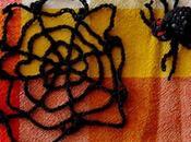 Araignée toile crochet