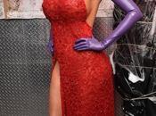 Heidi Klum devient Jessica Rabbit pour Halloween