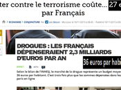 Chaque français finance banditisme fine terrorisme 36€/an
