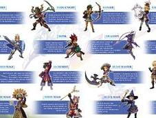 Final Fantasy Explorers disposera classes différentes
