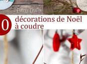 ornements décorations Noël coudre