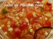 Salsa Piments Frais Thermomix