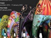 Bangkok Elephant Parade 01dec 2015- janvier 2016