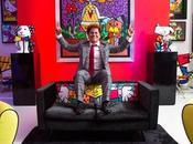 Romero Britto, joie vivre d'un artiste communicatif.