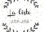 ..:: Liste 2015-2016 ::..